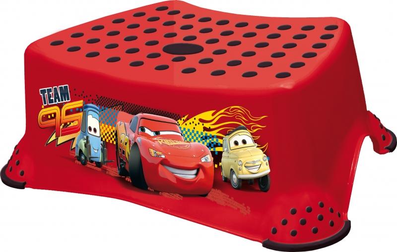 Keeeper Stolička s protišmykovou funkciou -Cars II- červená