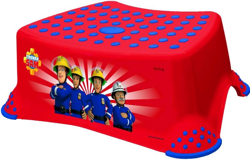 Keeeper Stolička s protišmykovou funkciou -Fireman Sam- červená