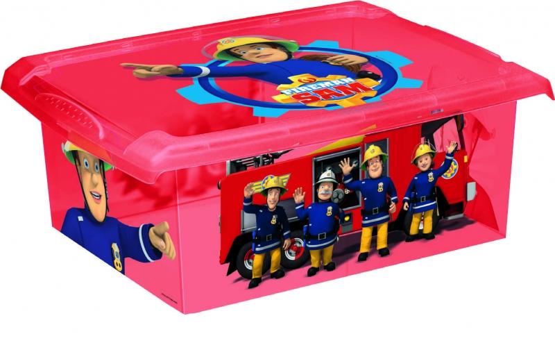 Keeeper Fireman Sam 10 l - červený