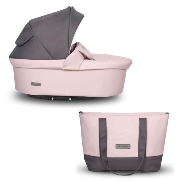Kočík Riko Basic Pastel 2v1, 2019 - pink