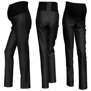 Gregx Elegantné nohavice SAPO - čierna