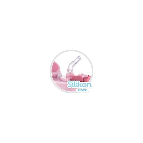 Canpol BabiesTermolahev se silikonovou brčkem 300 ml - ružový