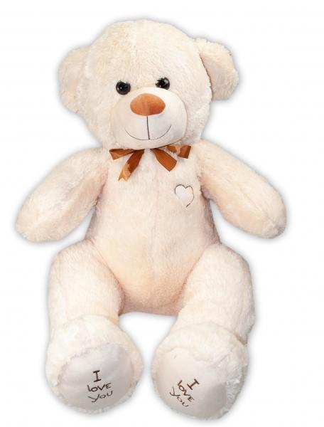 Baby Nellys Plyšový macko 120 cm - béžový