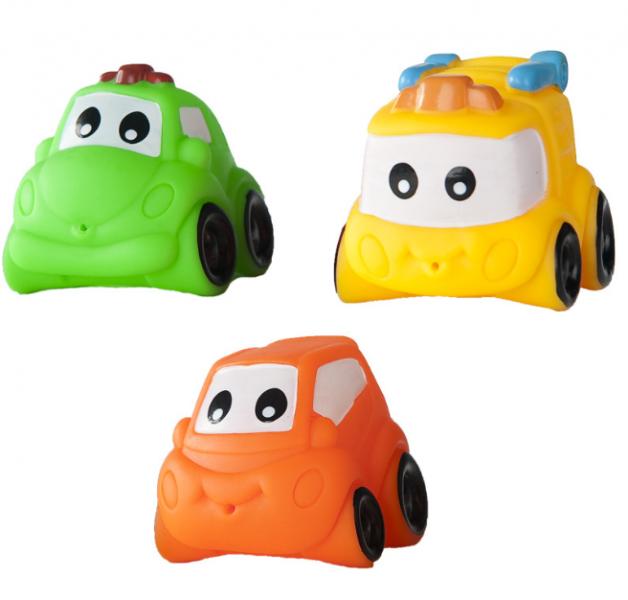 Hencz Toys Gumová autíčka do vane - 2 ks