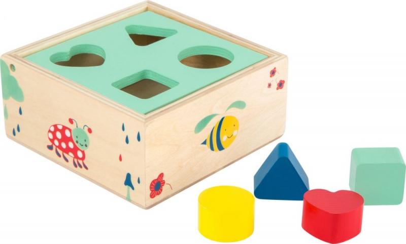Legler Edukačná vkladačka s kockami - Movere