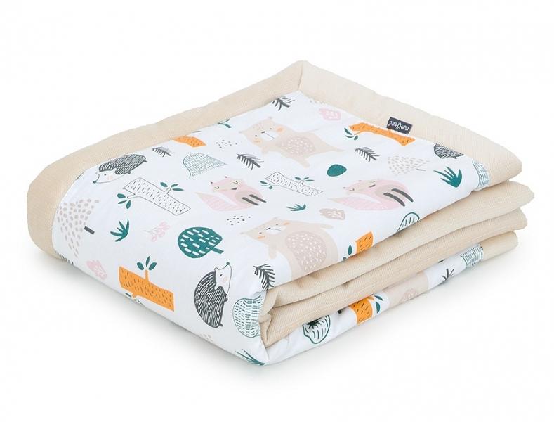 Mamo Tato Obojstranná deka Velvet 75 x 100 cm - Forest