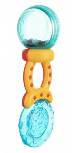 Canpol babies Hrkálka s hryzátkom Lízatko - rôzne farby