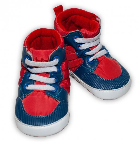 Jarné topánočky BOBO BABY 01 - modrá, veľ. 3/6 m