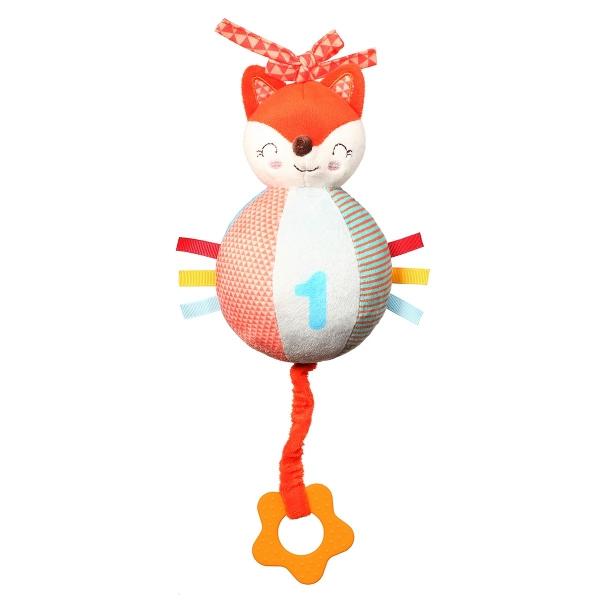 BabyOno Plyšová závesná hračka s melódiou Fox Vincent