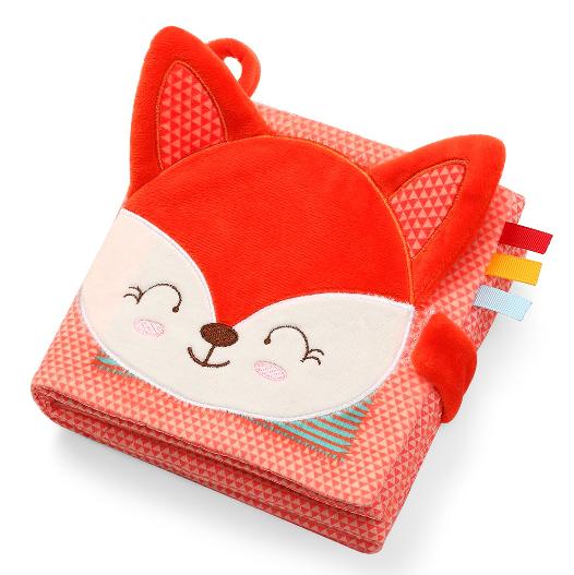 BabyOno Senzorická textilná knižka Fox Vincent