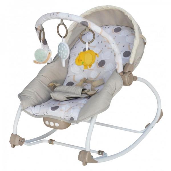 BABY MIX Lehátko pre dojčatá s vibrácií a hudbou - Bubliny