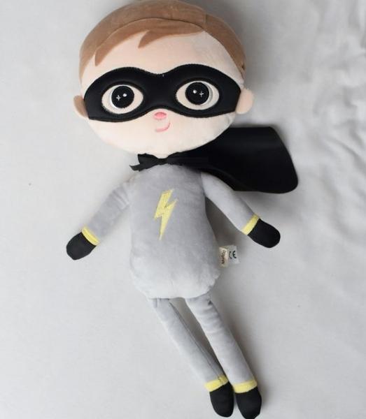 Handrová bábika Metoo Super Boy  - sivá