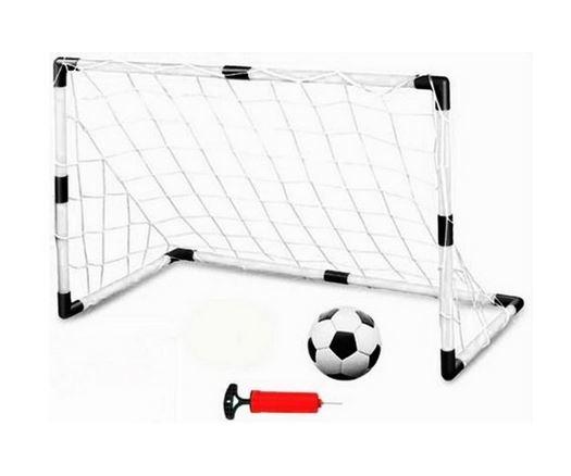 Futbalová sada, bránka, loptu a pumpička