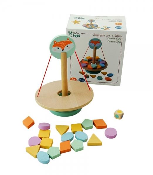 Adam Toys Balančná hra s tvarmi - líška