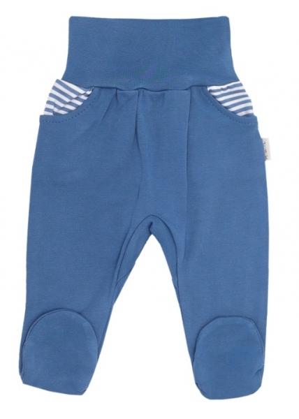 Mamatti Dojčenské polodupačky World - modré-50 (0-1m)
