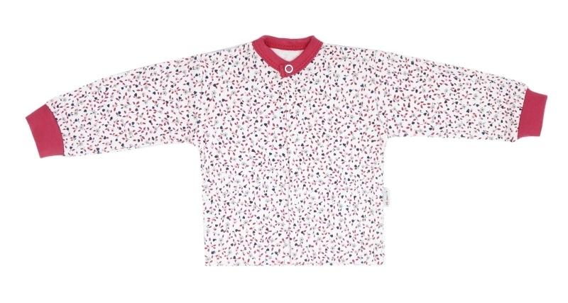 Mamatti Novozenecká bavlnená košieľka Mouse - mini květinky, veľ. 62