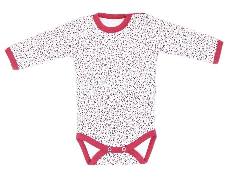 Mamatti Dojčenské body Mouse - mini květinky