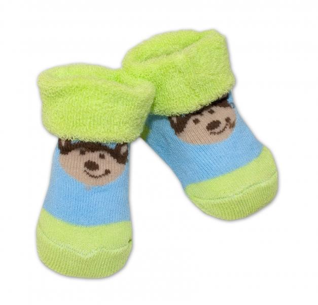 Dojčenské ponožky 0-6 m,Bobo Baby - Psík