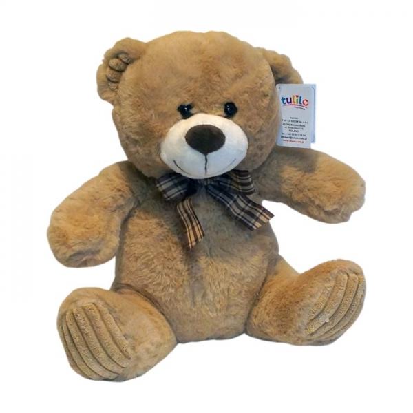 Plyšový medvedík Tulilo, 30 cm - sv. hnědý