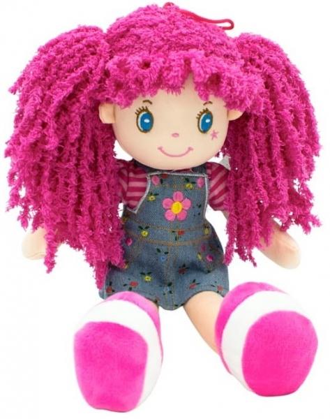 Handrová bábika Barborka, Tulilo, 35 cm - ružová