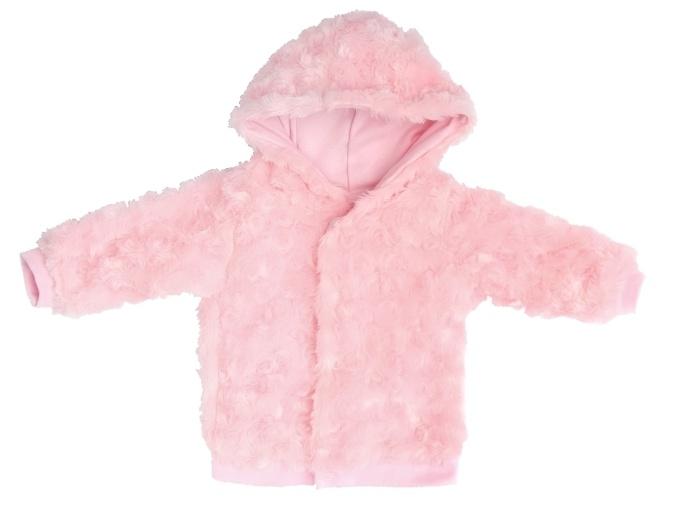 Mamatti Dojčenská bundička, svetlo rúžová