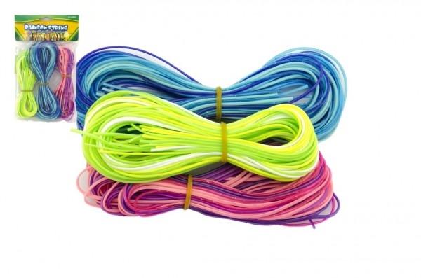 Zaplétač povrázky bužírky 80cm 60ks plast asst 3 farby v sáčku