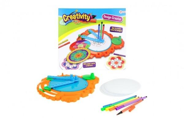 Kreatívna sada Inspiro plast v krabici 28x26x4,5cm