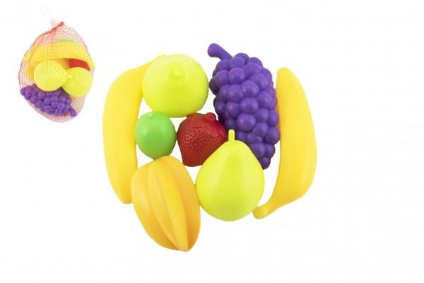 Ovocie 7 ks plast 5-13cm v sieťke