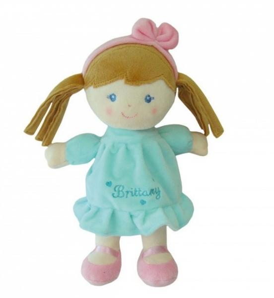 Smily Play, Handrová bábika Brittany so sv. hnedými vláskami, 25 cm