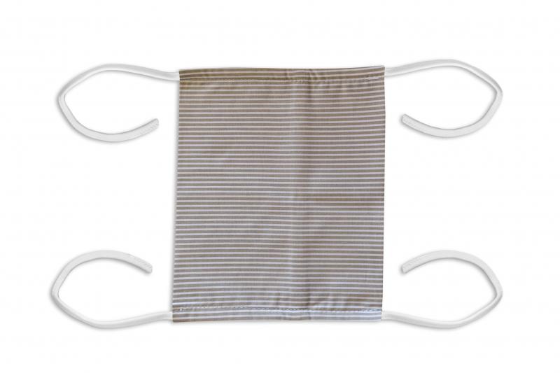 Bavlnená rúško, dvojvrstvová s vreckom - pánské motívy
