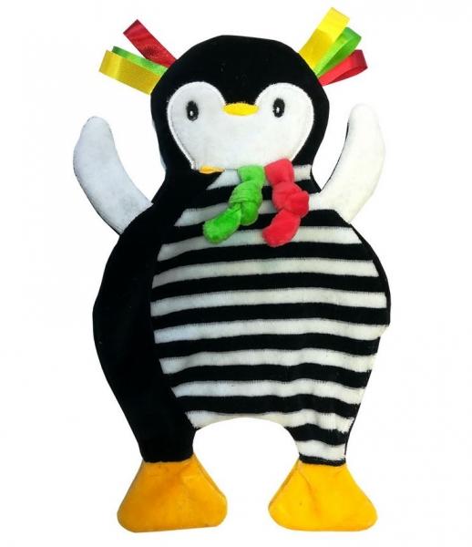 Hencz Toys Pinkado - senzorická edukačné hračka - šuštiace - tučňáček