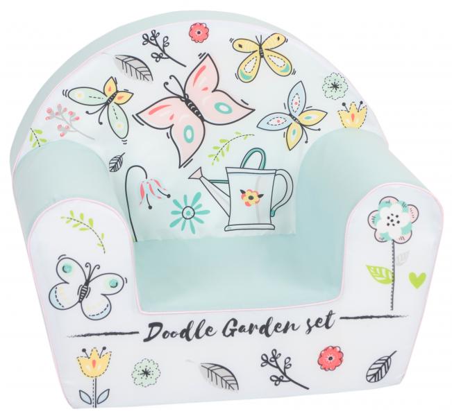 Delsit Detské kresielko, pohovka - Motýlková zahrada