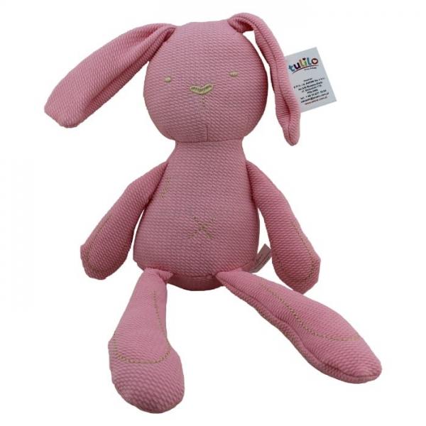 Plyšová hračka Tulilo Zajačík, 42 cm - růžový