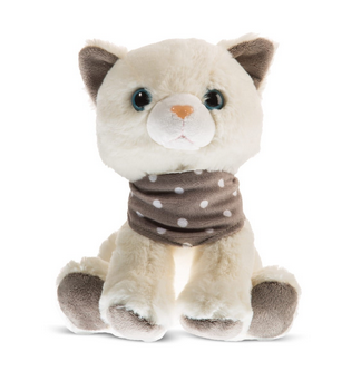 Plyšová hračka Tulilo Mačka, 22 cm - krémový