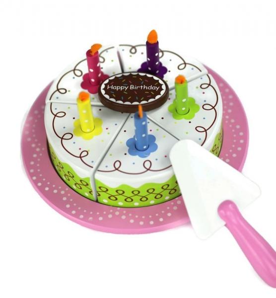 Lenin Drevená narodeninová torta na hranie