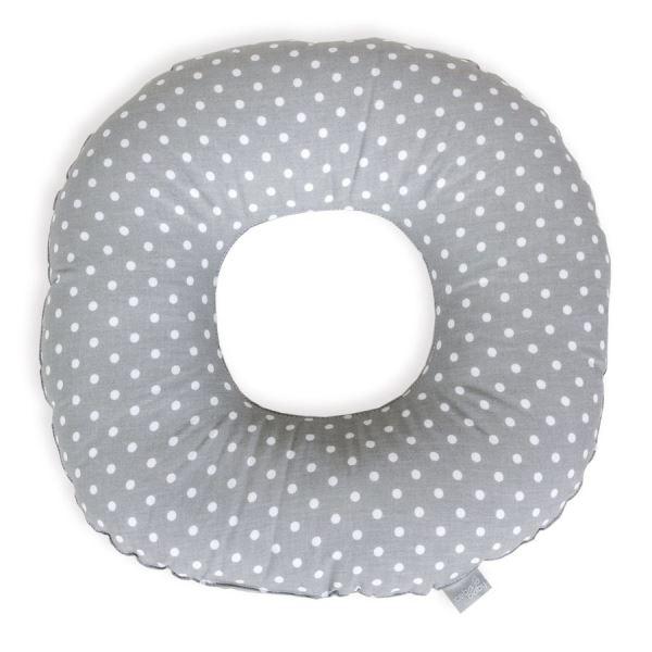 Ceba Popôrodné vankúš - biele bodky na šedej