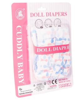 Plienky pre bábiky Baby Pampers, 2ks v balení