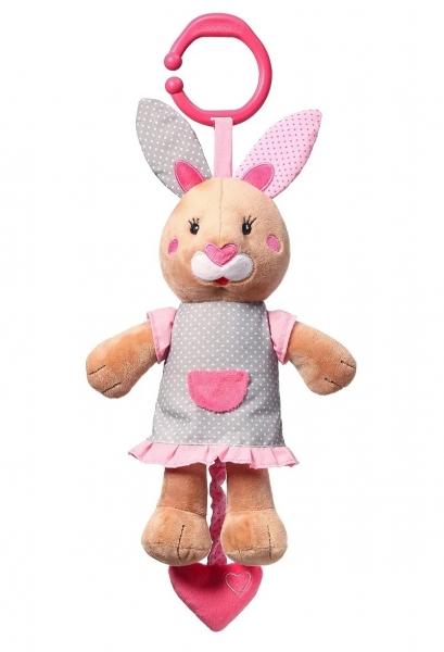 BabyOno Plyšová hračka s melódiu Bunny Julia