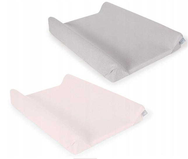 Ceba baby Poťah na prebaľovaciu podložku 2ks, ružová, sivá, 50x70-80cm
