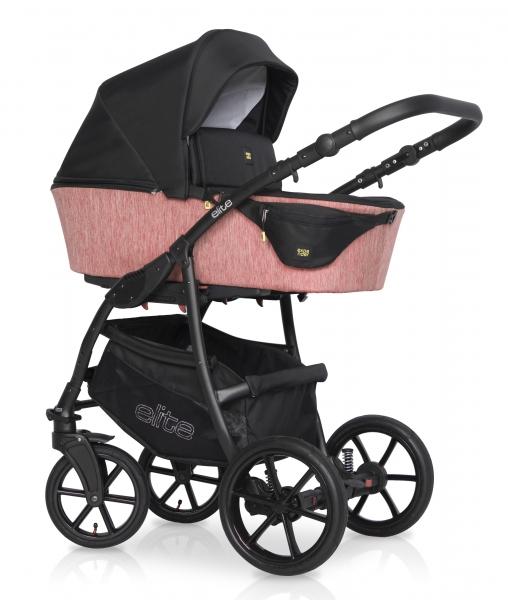 Kombinovaný detský kočík 2 v 1 Expander Elite 2020, rose