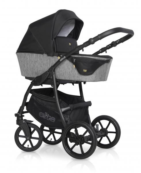 Kombinovaný detský kočík 2 v 1 Expander Elite 2020, carbon