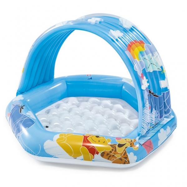 Nafukovací bazén detský Medvedík Pú 109 x 102 x 71 cm