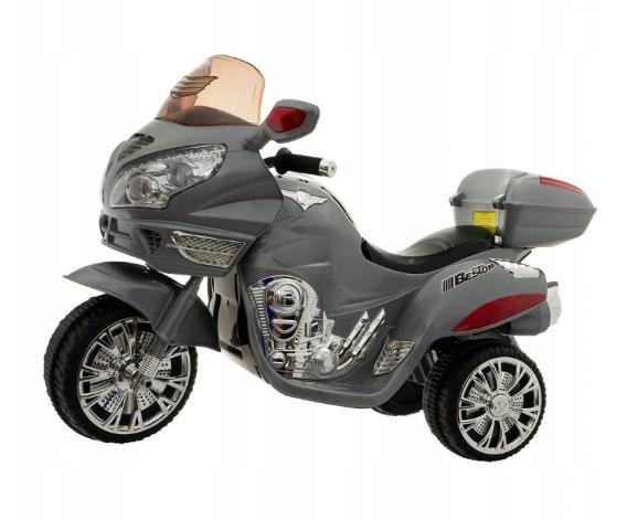 uro Baby akumulátorový motocykel - Sivý