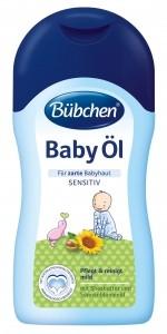 Bübchen Ochranný olejček  sensitiv 200 ml