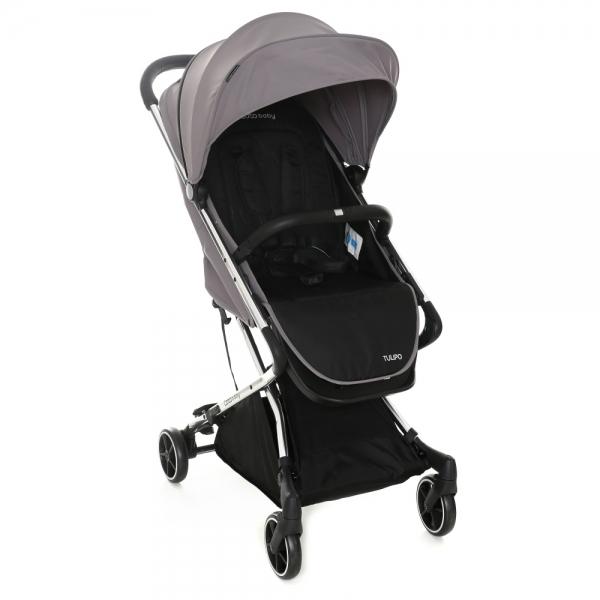 Coto Baby Detský kočík TULIPO 2020 - Grey