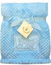 BOBO BABY Detská deka BOBOBABY - Boy, modrá