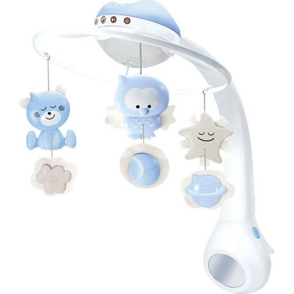 Infantino Hudobný kolotoč s projekciou 3v1 - modrý