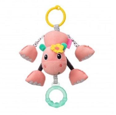 Infantino Závesná plyšová hračka - Hroch