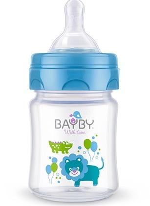 Bayby, Dojčenská fľaša 120ml, 0m +
