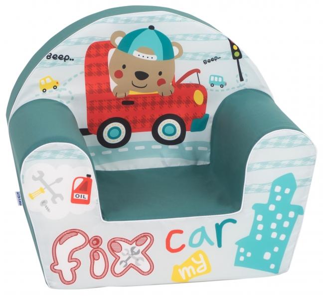 Delsit Detské kresielko, pohovka - Fix Car